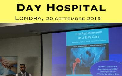 La protesi d'anca in Day Hospital: Londra 2019