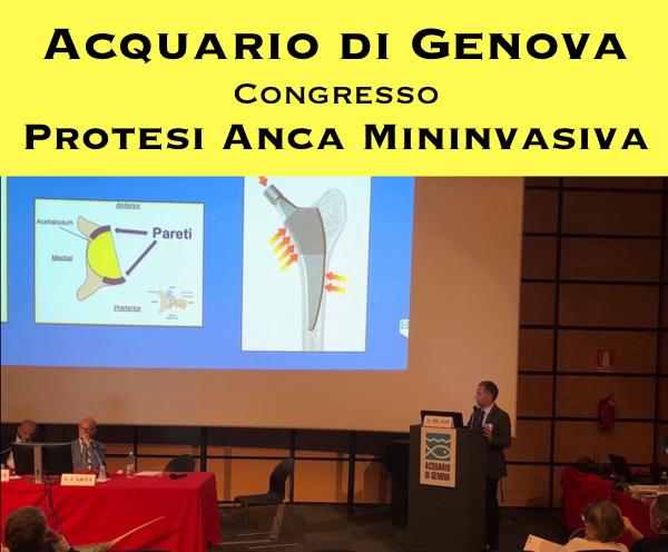 Congresso Protesi Anca Mininvasiva Anteriore Genova 2018